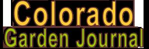 Colorado Garden Journal
